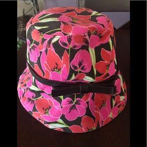 Kate Spade Tropical Print Bucket Hat